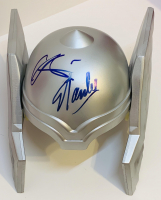 "Stan Lee & Chris Hemsworth Signed ""Thor"" Full-Size Replica Toy Helmet (PSA COA & JSA LOA) at PristineAuction.com"