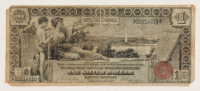 1896 $1 One Dollar U.S. Silver Certificate Red Seal Large Size Currency Bank Note at PristineAuction.com
