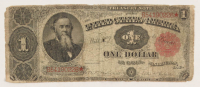 1891 $1 One Dollar U.S. Treasury Bank Note at PristineAuction.com
