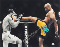 Anderson Silva Signed UFC 16x20 Photo (PSA COA) at PristineAuction.com