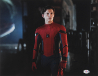 """Tom Holland Signed """"Spider-Man: Far From Home"""" 11x14 Photo (PSA COA) at PristineAuction.com"""