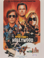 """Quentin Tarantino & Margot Robbie Signed """"Once Upon a Time in Hollywood"""" 11x14 Photo (PSA COA) at PristineAuction.com"""