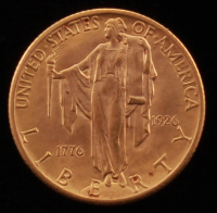 1926 $2.50 American Sesquicentennial Gold Coin at PristineAuction.com