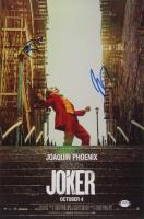 "Joaquin Phoenix & Todd Phillips Signed ""Joker"" 11x18 Photo (PSA COA) at PristineAuction.com"
