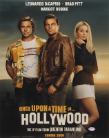 """Quentin Tarantino Signed """"Once Upon a Time in Hollywood"""" 16x20 Photo (PSA Hologram) at PristineAuction.com"""