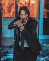 "Keanu Reeves Signed ""John Wick"" 16x20 Photo (PSA COA) at PristineAuction.com"