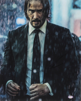 """Keanu Reeves Signed """"John Wick: Chapter 3 – Parabellum"""" 16x20 Photo (PSA COA) at PristineAuction.com"""