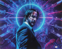 "Keanu Reeves Signed ""John Wick: Chapter 3 – Parabellum"" 16x20 Photo (PSA COA) at PristineAuction.com"