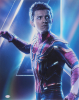 """Tom Holland Signed """"Avengers: Infinity War"""" 16x20 Photo (PSA COA) at PristineAuction.com"""