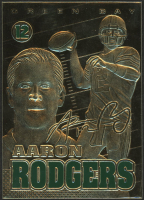 2014 Merrick Mint Aaron Rodgers 23kt Gold Card at PristineAuction.com