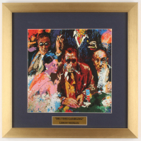"LeRoy Neiman ""Big Time Gambling"" 16x16 Custom Framed Print Display at PristineAuction.com"