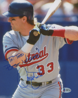 "Larry Walker Signed Montreal Expos 8x10 Photo Inscribed ""Best Wishes!"" (Beckett COA) at PristineAuction.com"