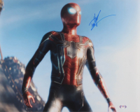 "Tom Holland Signed ""Avengers: Infinity War"" 16x20 Photo (PSA COA) at PristineAuction.com"