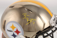 Ben Roethlisberger Signed Steelers Authentic On-Field Full-Size Chrome Speed Helmet (Beckett COA & Fanatics Hologram) at PristineAuction.com