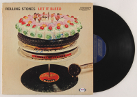 "Keith Richards Signed The Rolling Stones ""Let It Bleed"" Vinyl Record Album Cover (PSA LOA) at PristineAuction.com"