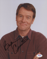 Bryan Cranston Signed 8x10 Photo (PSA COA) at PristineAuction.com