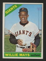 1966 Topps #1 Willie Mays at PristineAuction.com