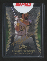 2018 Topps Tier One Autographs Gold Ink #T1ARJA Reggie Jackson at PristineAuction.com