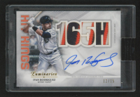 2019 Topps Luminaries Hit Kings Autograph Patches #HKAPIR Ivan Rodriguez at PristineAuction.com