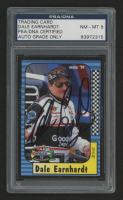 Dale Earnhardt Sr. Signed 1998 Maxx 10th Anniversary #96 (PSA Encapsulated) at PristineAuction.com