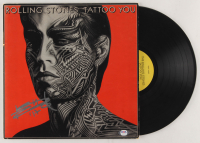 "Keith Richards Signed The Rolling Stones ""Tattoo You"" Vinyl Record Album Cover (PSA LOA) at PristineAuction.com"
