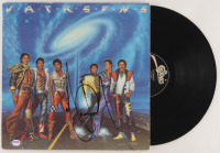 "Michael Jackson Signed The Jackson 5 ""Victory"" Vinyl Record Album Cover (PSA LOA) at PristineAuction.com"