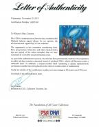 "Michael Jackson Signed The Jackson 5 ""Victory"" Vinyl Record Album Cover (PSA LOA) at PristineAuction.com"