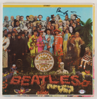 "Paul McCartney Signed The Beatles ""Sgt. Pepper's Lonely Hearts Club Band"" Vinyl Record Album Cover (PSA LOA) at PristineAuction.com"