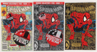 """Lot of (3) 1990 """"Spider-Man"""" Issue #1 Marvel Comic Books at PristineAuction.com"""