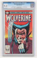 "1982 ""Wolverine"" Issue #1 Marvel Comic Book (CGC 9.2) at PristineAuction.com"