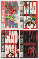 "Lot of (4) 1993 ""Deadpool: The Circle Chase"" Marvel Comic Books with #1-4 at PristineAuction.com"