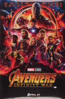 "Tom Holland & Chris Hemsworth Signed ""Avengers: Infinity War"" 24x36 Poster (PSA COA) at PristineAuction.com"