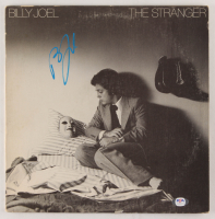 "Billy Joel Signed ""The Stranger"" Vinyl Record Album Cover (PSA COA) at PristineAuction.com"