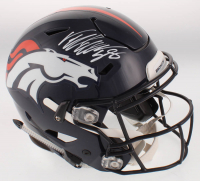 Von Miller Signed Denver Broncos Full-Size Authentic On-Field SpeedFlex Helmet (JSA COA) at PristineAuction.com