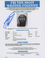 "Robert O'Neill Signed ""FBI's Ten Most Wanted: Usama Bin Laden"" 8x10 Photo (PSA COA) at PristineAuction.com"