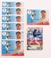 Lot of (8) Baseball Cards with (7) 2006 Topps Mantle Home Run History #1 Mickey Mantle & (1) 1999 UD Choice #142 Ken Griffey Jr. at PristineAuction.com