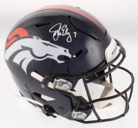 John Elway Signed Denver Broncos Full-Size Authentic On-Field SpeedFlex Helmet (Beckett COA) at PristineAuction.com