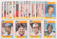 Lot of (33) 1986 Quaker Granola Baseball Cards with #33 Dave Winfield, #32 Tom Seaver, #31 Cal Ripken, #30 Jim Rice at PristineAuction.com