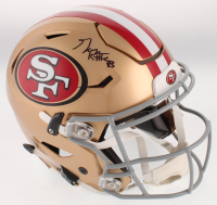 George Kittle Signed San Francisco 49ers Full-Size Authentic On-Field SpeedFlex Helmet (Beckett COA) at PristineAuction.com