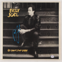 "Billy Joel Signed ""An Innocent Man"" Vinyl Record Album Cover (PSA COA) at PristineAuction.com"