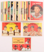 Lot of (48) Baseball Cards with 1961 Topps #42 AL Batting Leaders / Pete Runnels / Al Smith / Minnie Minoso / Bill Skowron, 1959 Topps #17 Danny's All-Stars / Frank Thomas / Danny Murtaugh MG / Ted Kluszewski, 1959 Topps #237 Run Preventers / Gil McDougal at PristineAuction.com