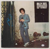 "Billy Joel Signed ""52nd Street"" Vinyl Record Album Cover (PSA COA) at PristineAuction.com"