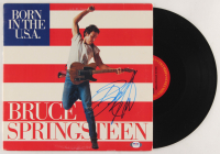 "Bruce Springsteen Signed ""Born in the U.S.A."" Vinyl Record Album Cover (PSA LOA) at PristineAuction.com"