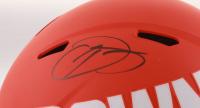Odell Beckham Jr. Signed Cleveland Browns Full-Size AMP Alternate Speed Helmet (JSA COA) at PristineAuction.com