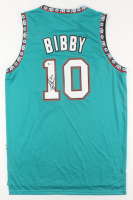 Mike Bibby Signed Vancouver Grizzlies Jersey (Beckett COA) at PristineAuction.com