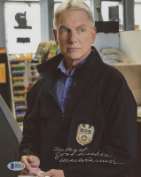 "Mark Harmon Signed ""NCIS"" 8x10 Photo Inscribed ""Good Wishes"" (Beckett COA) at PristineAuction.com"