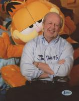 "Jim Davis Signed ""Garfield"" 8x10 Photo (Beckett COA) at PristineAuction.com"