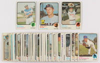 Lot of (78) 1973 Topps Baseball Cards with #215 Dusty Baker, #193 Carlton Fisk, #220 Nolan Ryan at PristineAuction.com