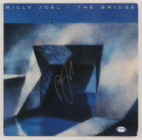 "Billy Joel Signed ""The Bridge"" Vinyl Record Album Cover (PSA COA) at PristineAuction.com"