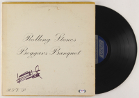 "Keith Richards Signed The Rolling Stones ""Beggars Banquet"" Vinyl Record Album Cover (PSA LOA) at PristineAuction.com"